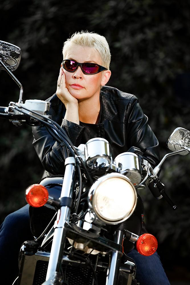 Motorrad Portrait