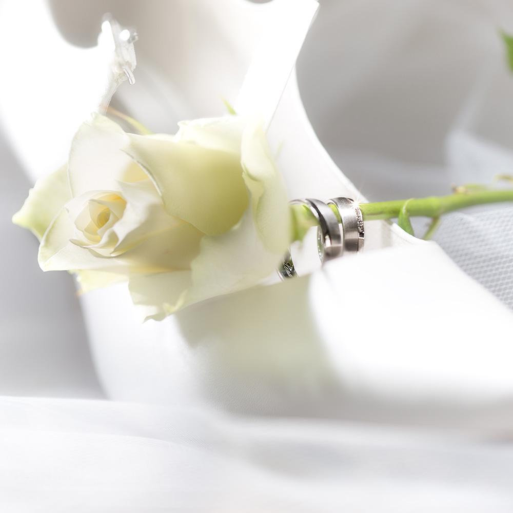 Hochzeit Schuhe mit Ringe